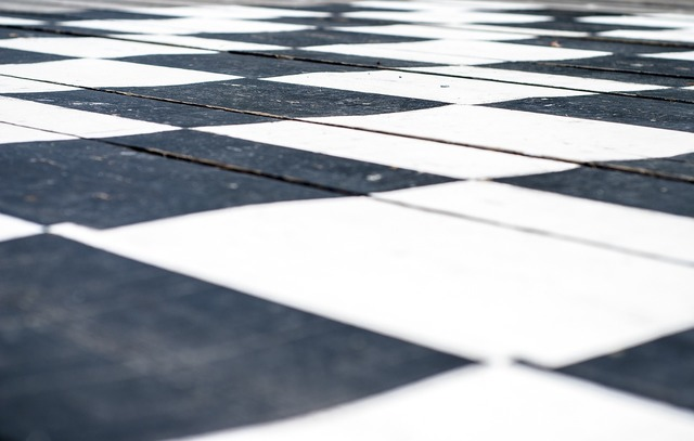 Chess board chess black.