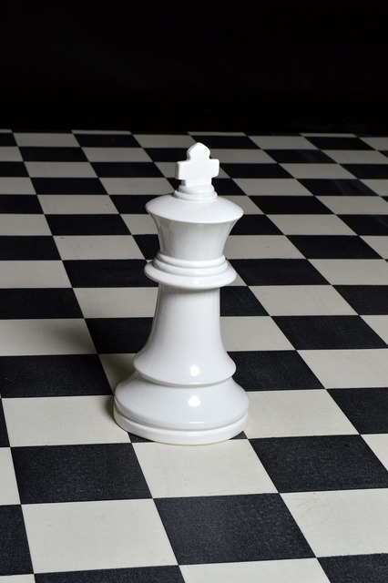 Chess piece chess strategy.