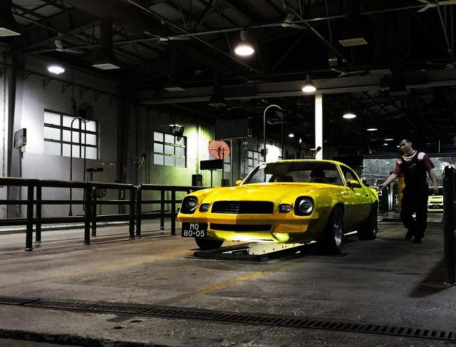 Chevrolet camaro vintage, transportation traffic.