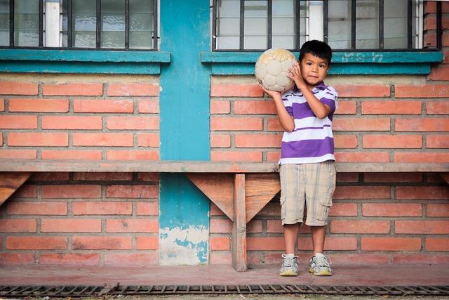 Child soccer boy, people.