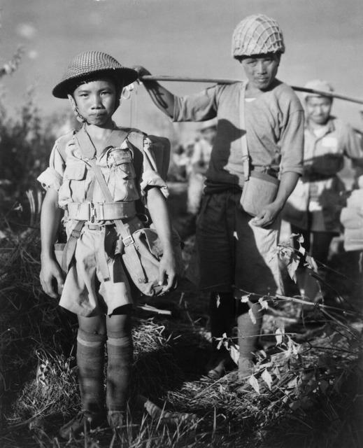 Child soldiers war china.