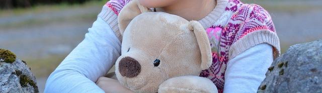 Child teddy bear furry teddy bear, people.