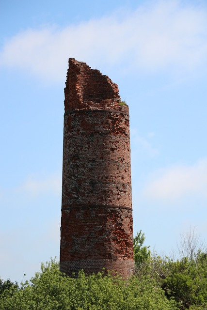 Chimney fireplace ruin, architecture buildings.