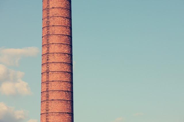 Chimney pipe chimney tube, industry craft.
