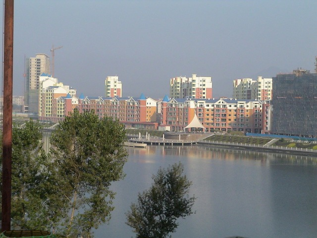 China fengcheng architecture, architecture buildings.