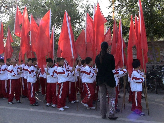 China fengcheng live normal, emotions.