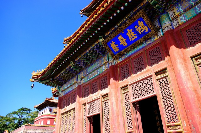 China hebei chengde, places monuments.