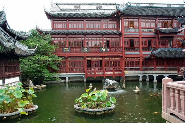 China shanghai mansion yu, architecture buildings.