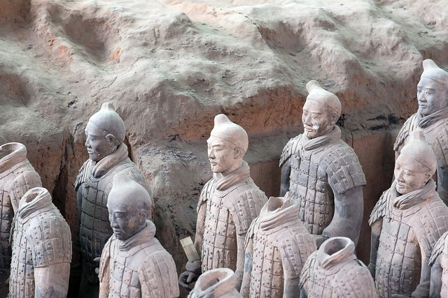 China terracotta army xian.