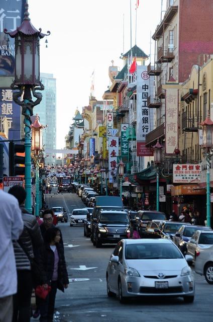 China town francisco dragon.