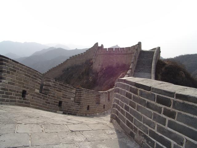 China wall beijing.