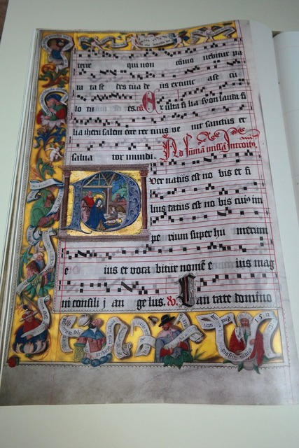 Choral book lorch choral book gilded, music.