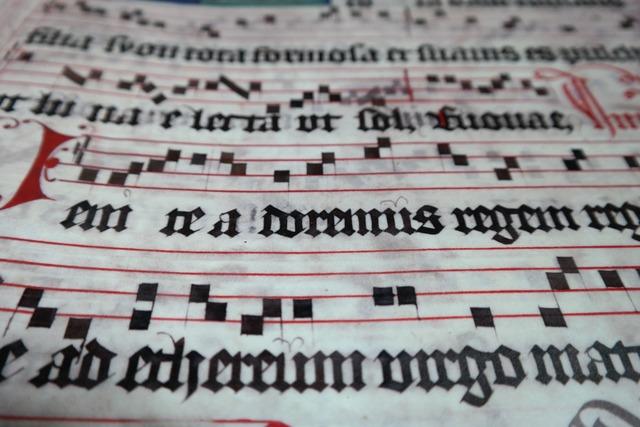 Choral book lorch choral book music, music.