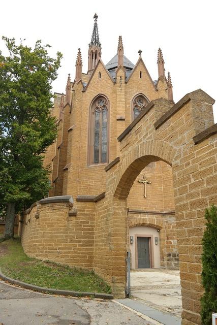Christ chapel castle fortress.