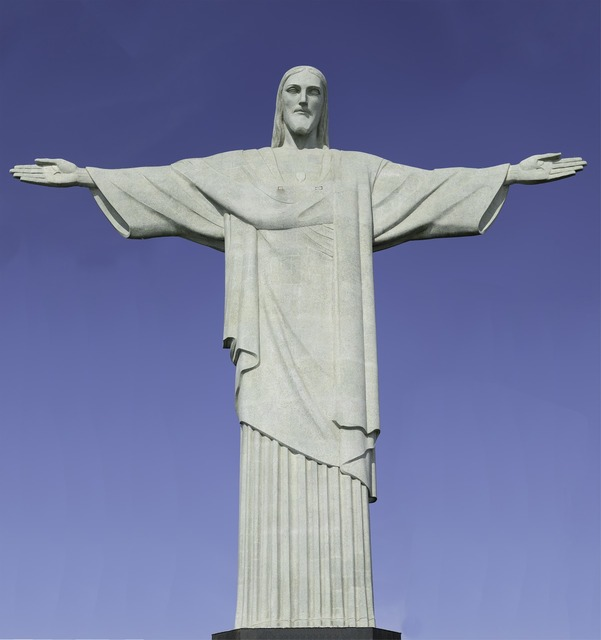 Christ the redeemer statue rio brazil, places monuments.