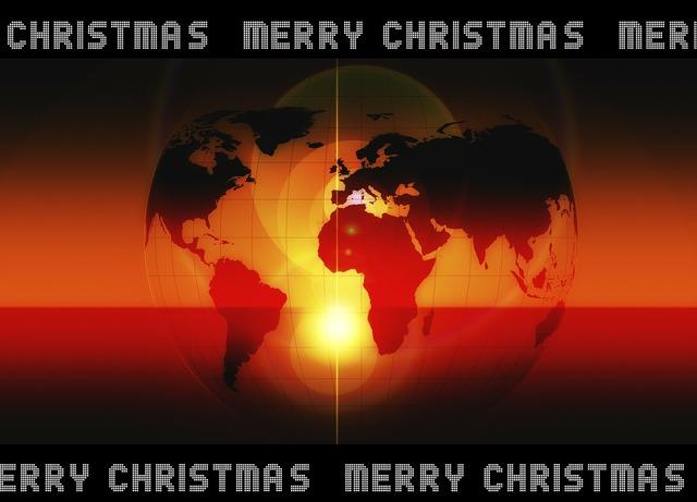 Christmas advent earth.
