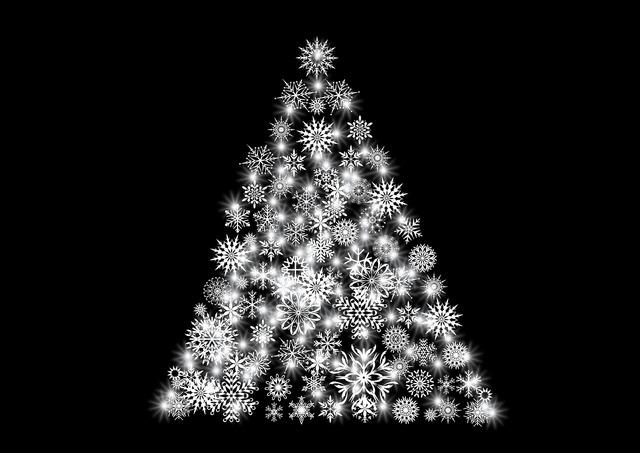Christmas advent tree decorations.