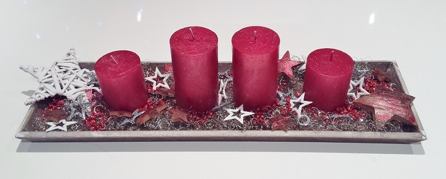 Christmas advent wreath advent.