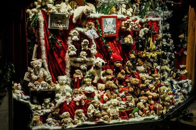 Christmas atmosphere decoration.