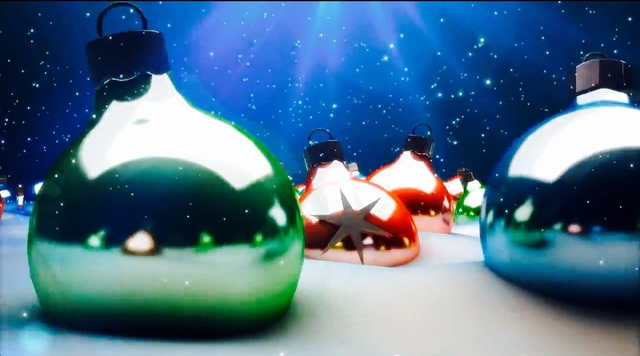 Christmas balls decoration.