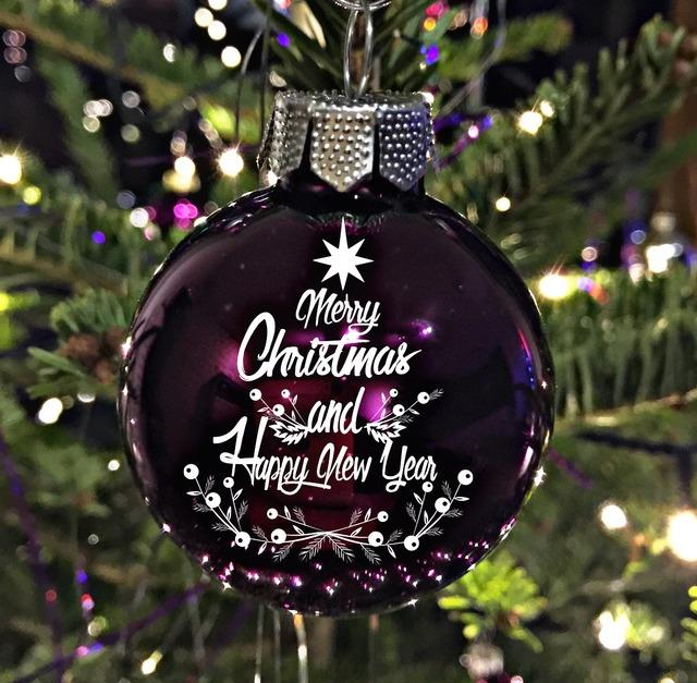 Christmas bauble christmas christmas ornaments.