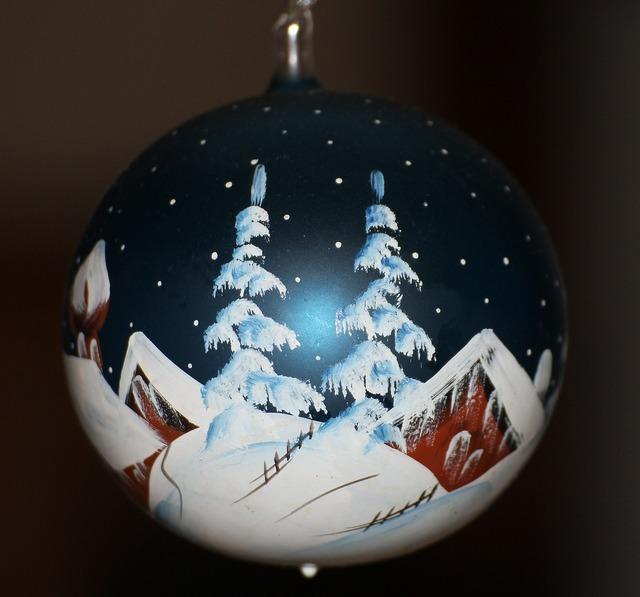 Christmas bauble christmas decoration.