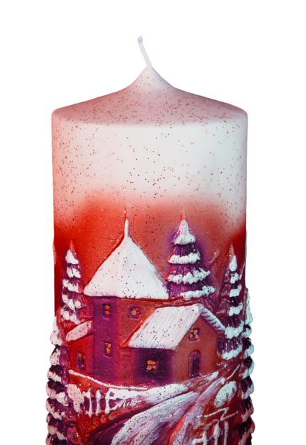 Christmas candle png.