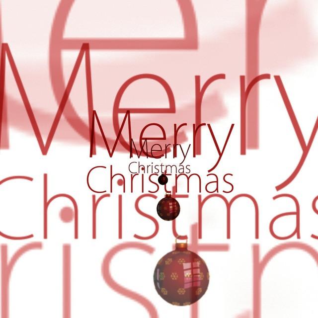 Christmas greeting card map.
