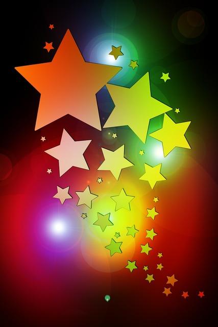 Christmas star light.