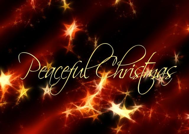 Christmas star red.