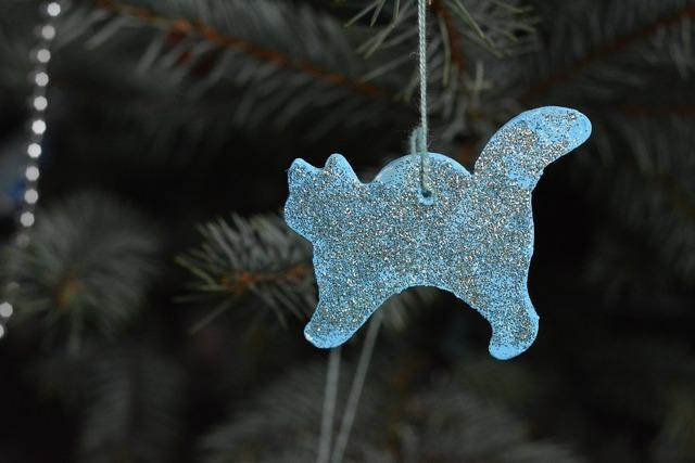 Christmas tree christmas tree decoration christmas, animals.