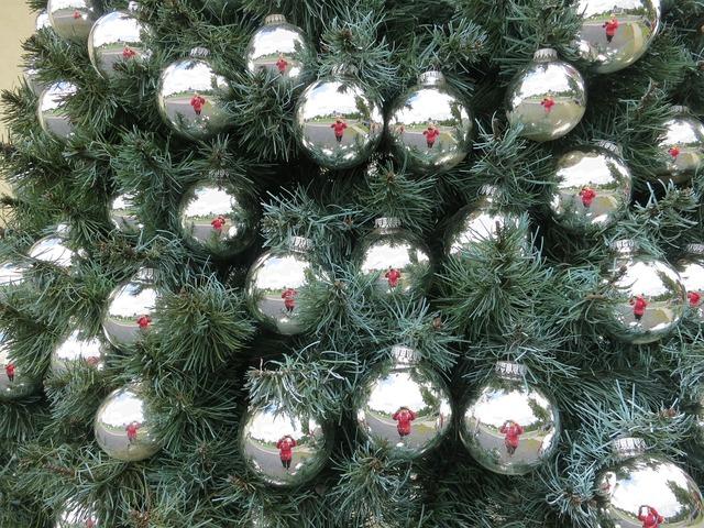 Christmas tree decorations decoration.