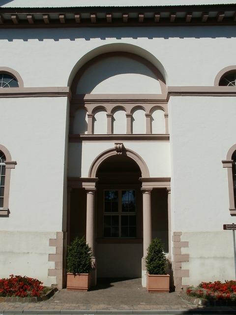 Christophorus church hockenheim, religion.