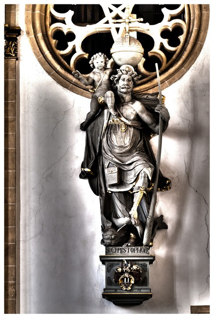 Christophorus dom paderborn, religion.