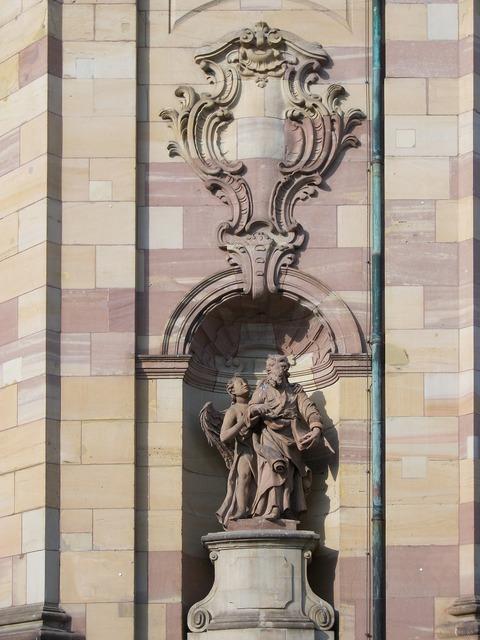 Chruch sculptures religion, religion.
