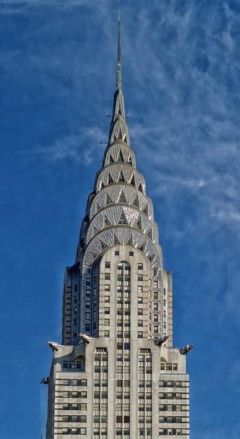 Chrysler building new york city skyscraper, architecture buildings.
