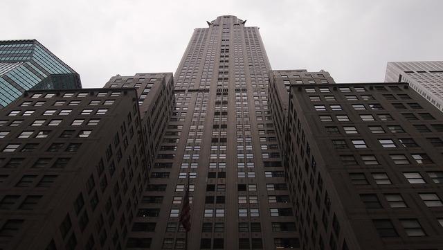 Chrysler building skyscraper new york.