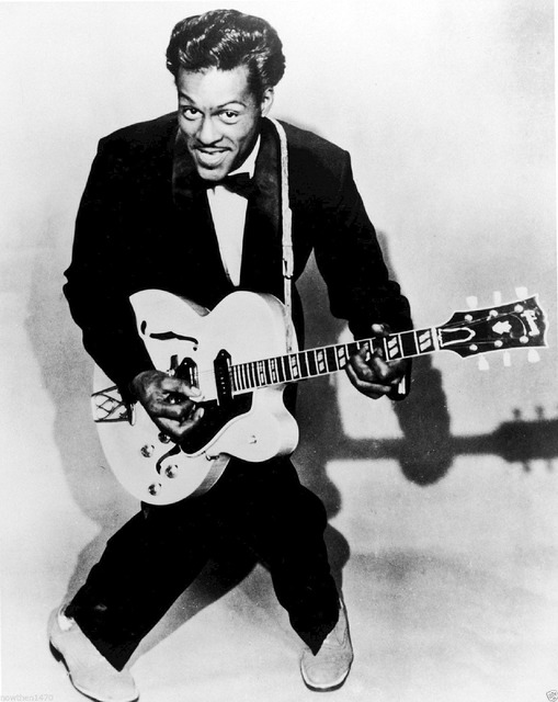 Chuck berry rock and roll musician.