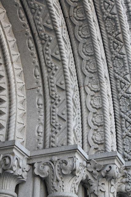 Church architecture facade, religion.