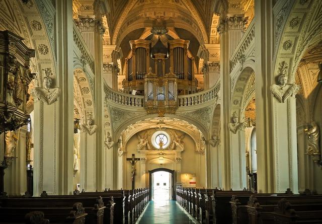 Church architecture vault, religion.