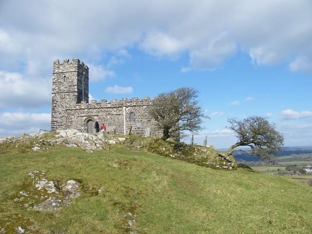 Church brentor dartmoor, religion.