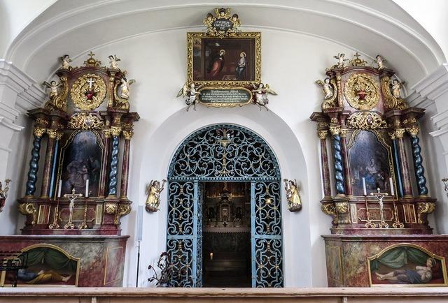 Church bühl house of worship, religion.