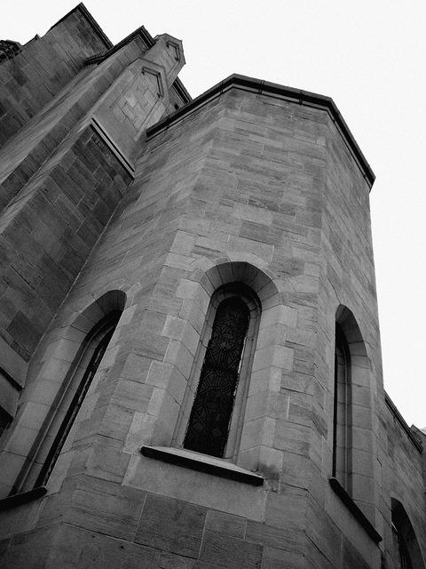 Church building tall, religion.