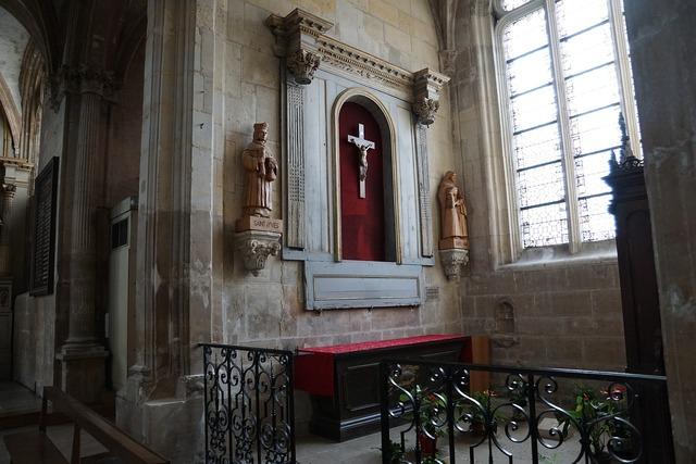 Church catholic france, religion.