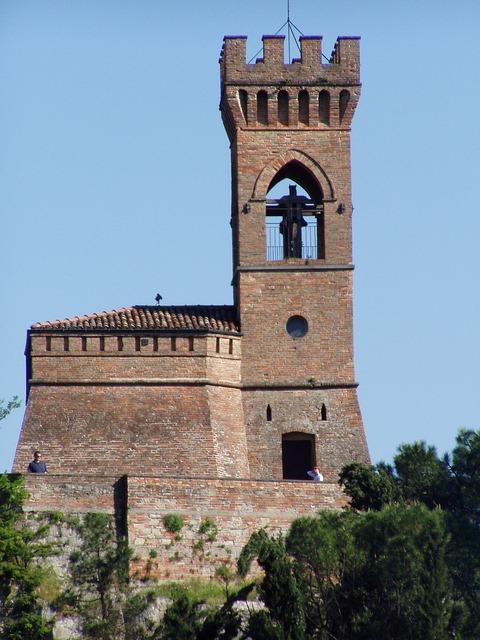 Church chapel clock tower, religion.