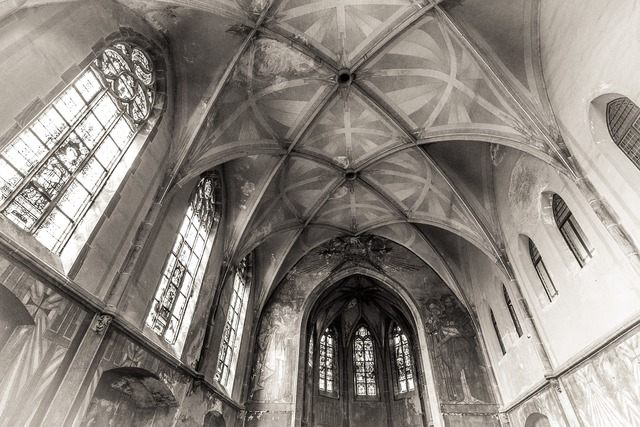 Church chapel inside, religion.