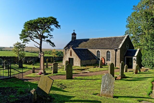 Church churchyard gravestones, religion.