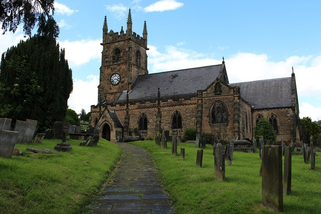 Church churchyard religion, religion.
