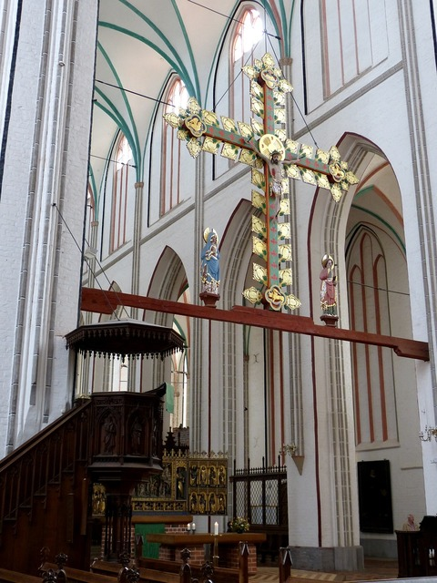 Church cross crucifix, religion.