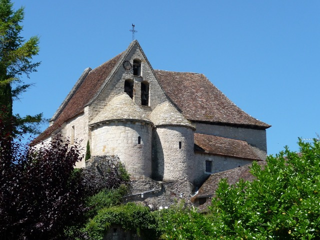 Church france romanesque architecture, religion.